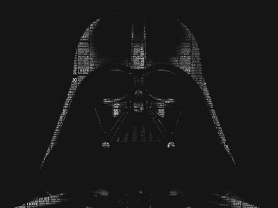 Vader-Text-Ture-400x300 Text-Ture Style | Wallpaper Prints