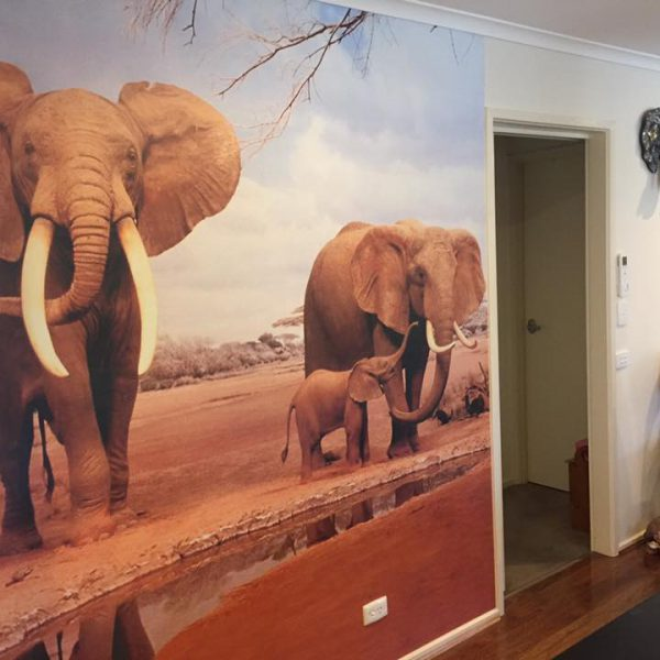 Elephants-2-600x600 Completed Projects | Wallpaper Prints