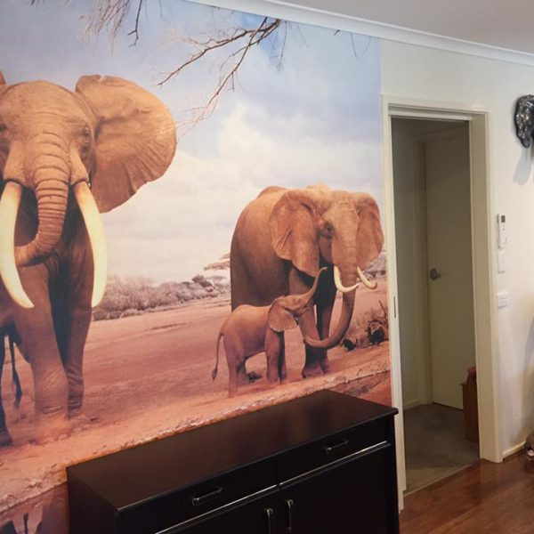 Elephants-600x600 Completed Projects | Wallpaper Prints