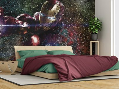 Ironman-Bedroom-Particles-400x300 Particles Style | Wallpaper Prints