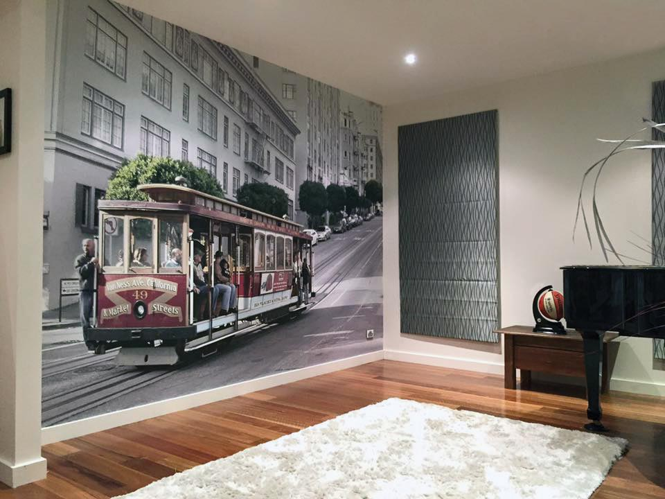 San-Francisco-Tram Completed Projects | Wallpaper Prints