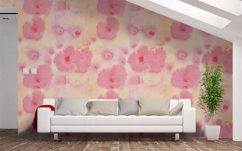 Martian Roses Watercolour | Feature Wall Prints